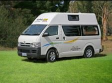 2 FREE days with 12 day campervan or motorhome hire