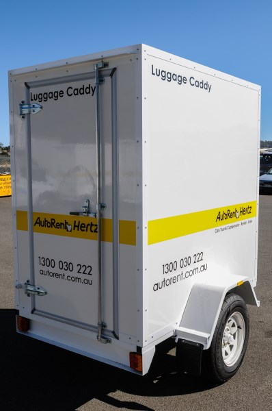 AutoRent Hertz Luggage Trailer
