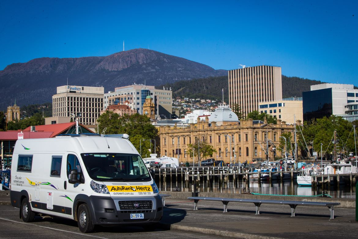 Take in the ambiance of Hobart