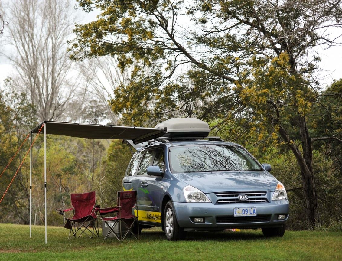 2 Berth Campervan with awning