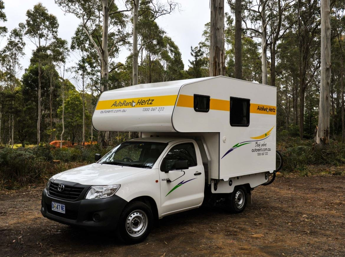 2 Berth Motorhome in bush setting